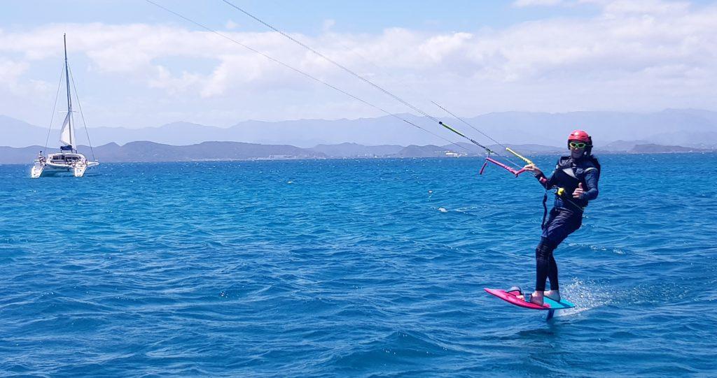 Kite foil Nouméa